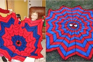 Superhero Dreamcatcher Afghan Free Crochet Pattern