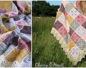Nature's Walk Blanket Free Crochet Pattern
