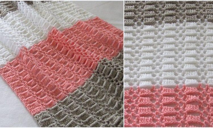 Easy Crochet Blanket for Baby Free Crochet Patterns | Your