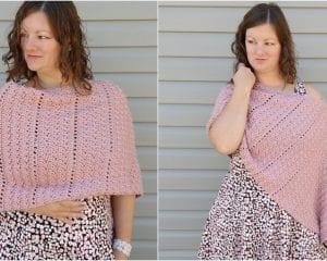 The Alluvium Poncho Free Crochet Pattern