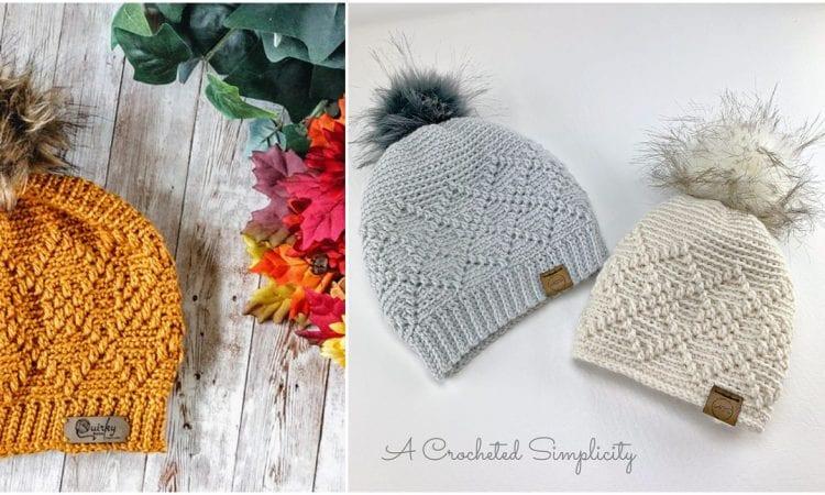 https://www.acrochetedsimplicity.com/argyle-beanie-slouch-free-crochet-hat-pattern/