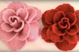 Beautiful Crochet Roses Free Tutorial