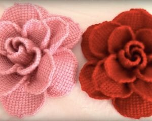 Beautiful Crochet Roses Free Tutorial