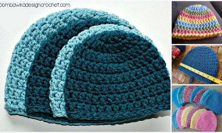 Perfect Double Beanie Free Crochet Pattern