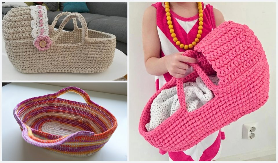 Doll's Carry Baskets